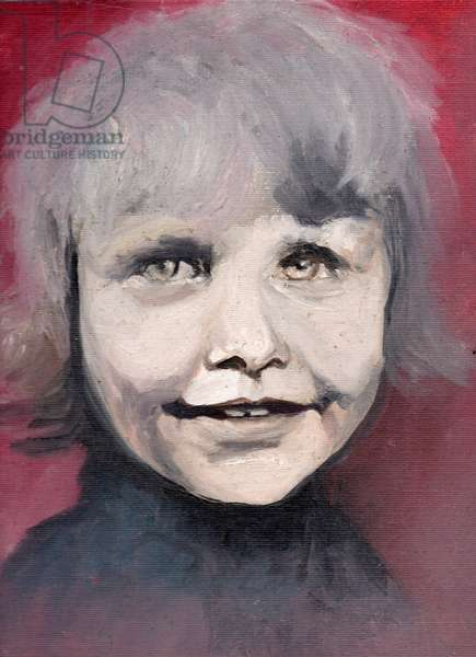 Young Jane, 1997 (acrylic on canvas board)