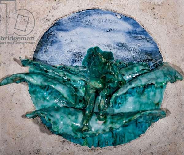 Sea Stallion, 1998, (glazed ceramic)