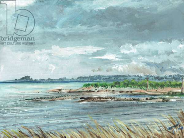 Iona Scotland, 2007, (acrylic on canvas board)