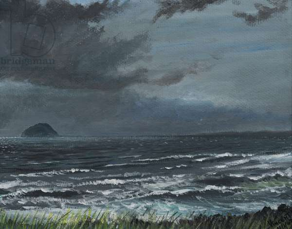Approaching Storm, 2007, (acrylic on canvas board)