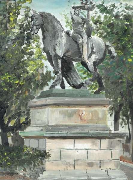 Art Barcelona , 1994, (acrylic on canvas board)
