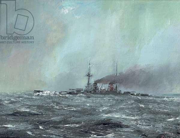 Derfflinger 1916, 2016, (oil on canvas)