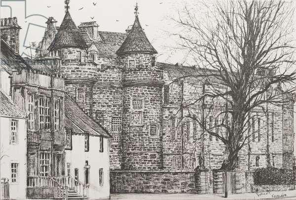 Falkland Palace, Scotland, 200,7  (ink on Paper)