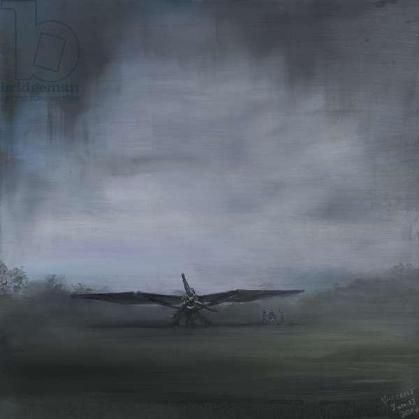 les secret obscure (2), 2014, (oil on canvas)