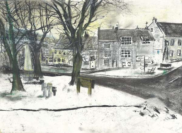 Osmotherley North Yorkshire, 1997, (pastels on paper)