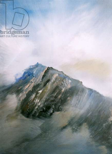 Snowdon rock of ages, 2014, (oil on canvas)