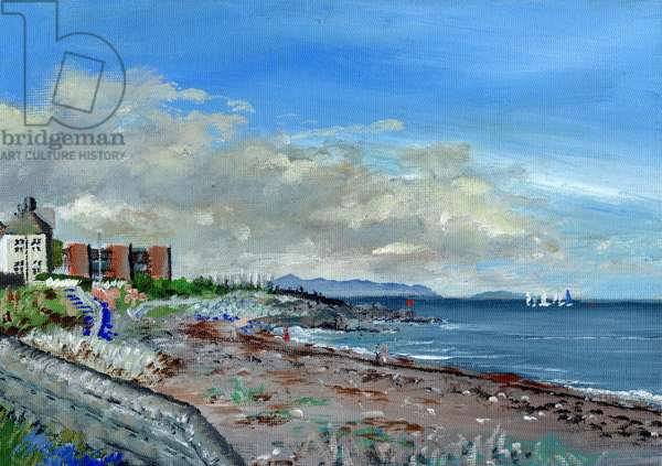 Greystones Ireland, 2001, (acrylic on canvas board)