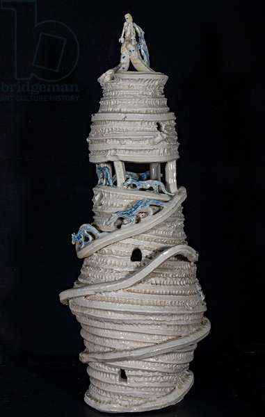 The Mother of all Architecture, 1998, (glazed coiled porcelain)