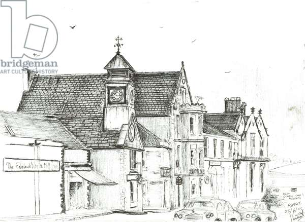 The Star Hotel, Moffat. 2005, (ink on paper)