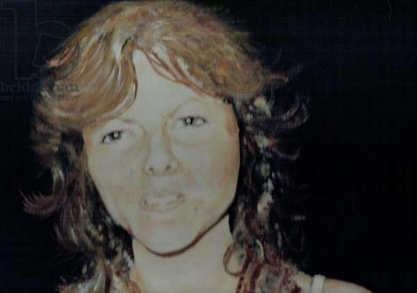 Jane, 1989, (oil on canvas board)