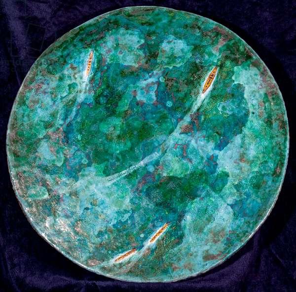 Battle of the River Plate, 1998, (glazed ceramic)