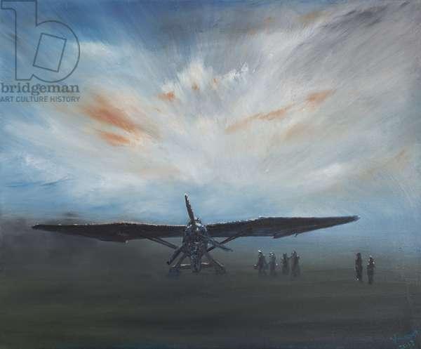 Les Secret Obscure' Lysander, 2013,  (oil on canvas)