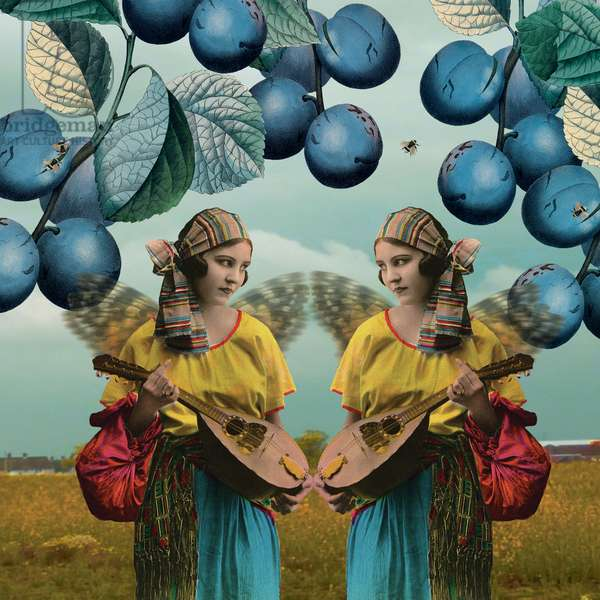 Me and You, 2014, (digital collage)
