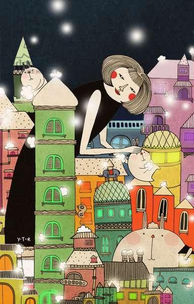 Mouldy city, 2013, (digital)