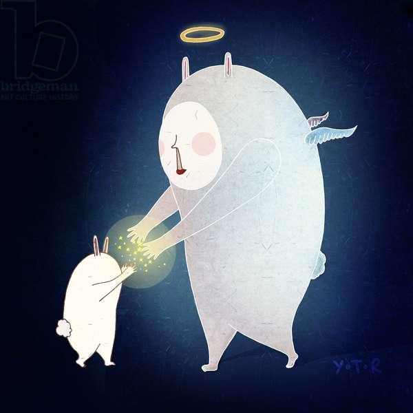 Wishing on the stars, 2013 (digital)