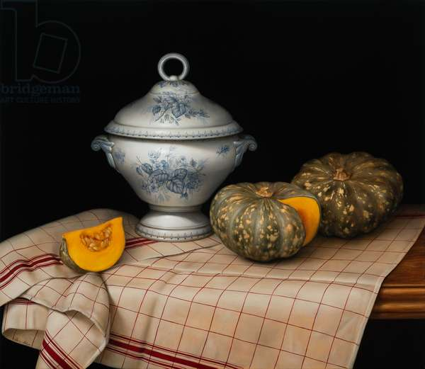 Still Life with French Tureen, 2020 (oil on linen)