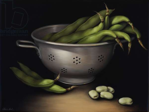 Still Life with Fava Beans