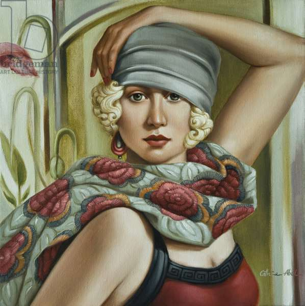 Grey Cloche, 2009 (oil on canvas)