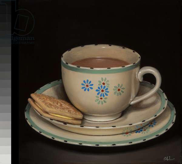 Teascape with Custard Cream
