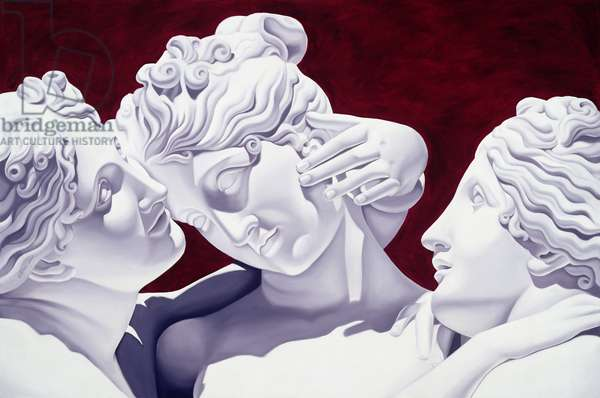Three Graces (oil on canvas)