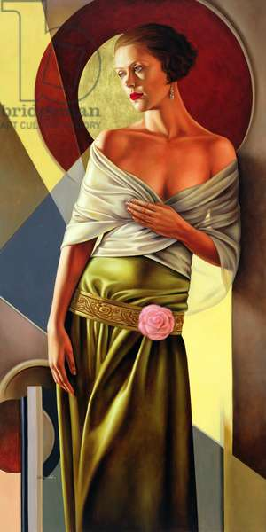 Reflections of Grace, 2006  (oil on linen)