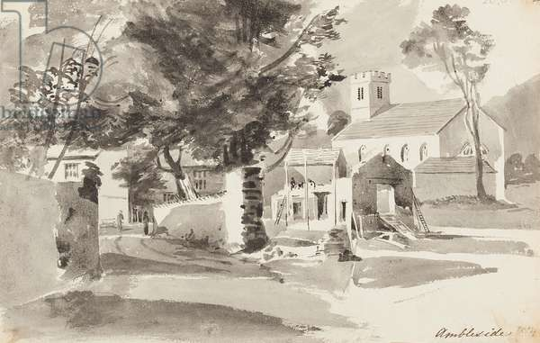 St Ann's Church, Ambleside, 1814 (w/c on paper)