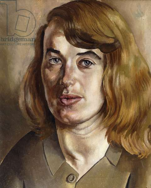 Portrait of Daphne Charlton, 1941 (oil on canvas)
