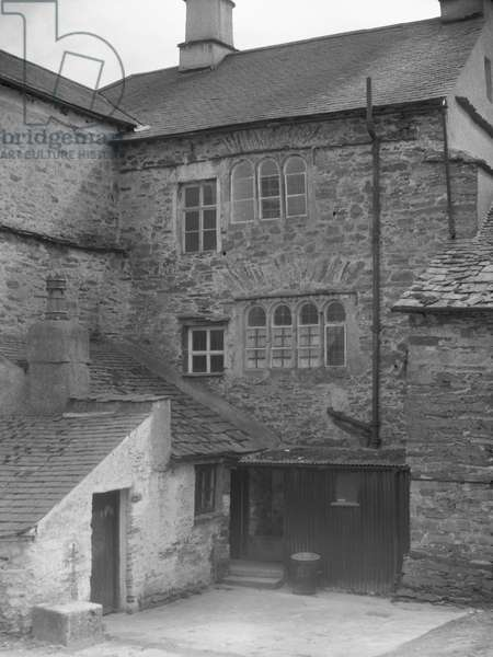 A view of part of Cowmire Hall, possibly at the back, 1930s-60s (b/w photo)