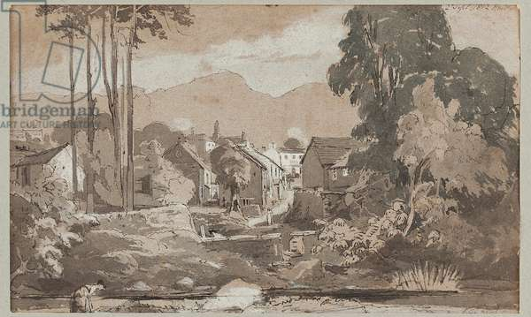 View East to Ambleside, 1812 (w/c on paper)