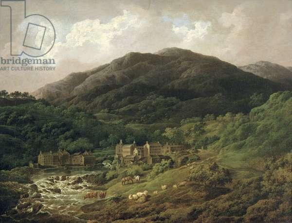 Backbarrow Cotton Mill (oil on canvas)