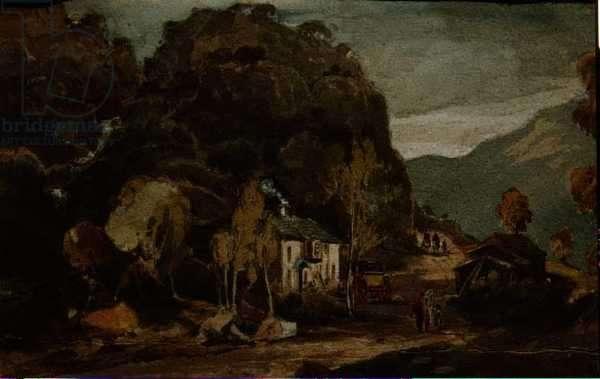 Borrowdale (w/c on paper)