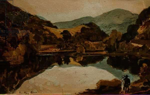 Brathay River near Hawkshead, Cumbria