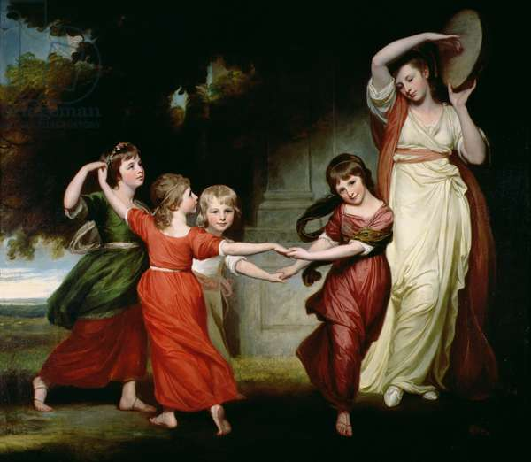 The Gower Family, c.1776-77 (oil on canvas)
