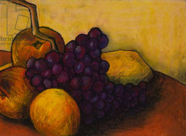 Late summer, 2011 (oil pastel on paper)