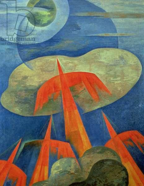Aeropainting, 1934 (oil on canvas)