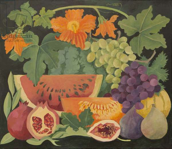 Mixed fruit and Melon flowers