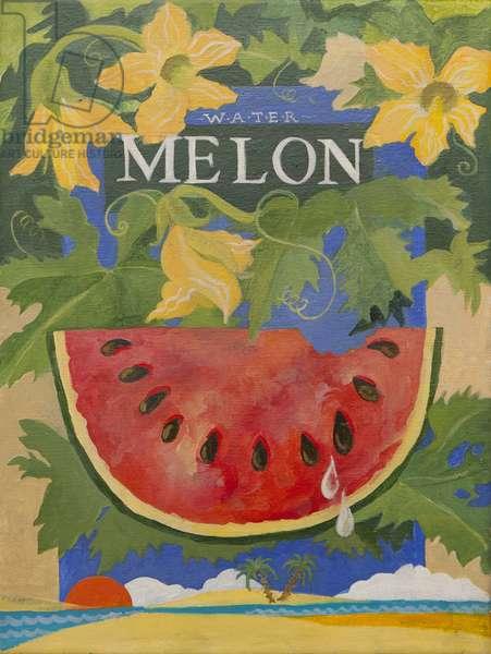 Melon (acrylic)