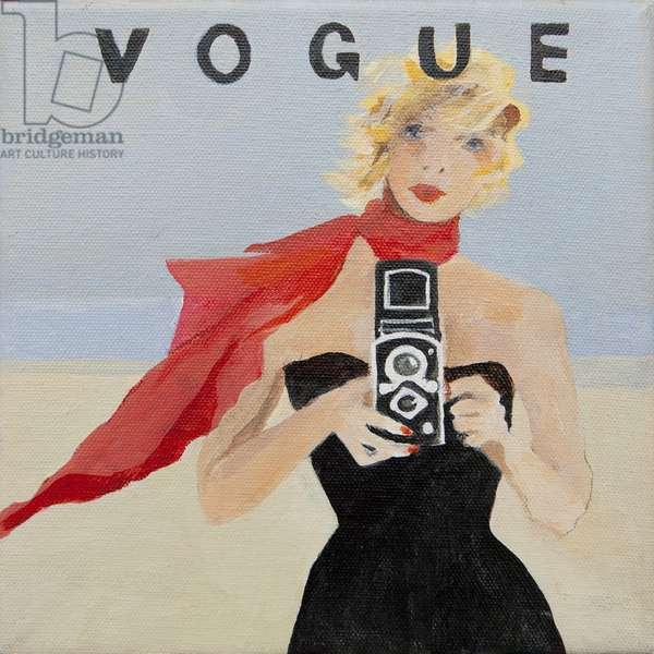 Vogue cover (acrylic)