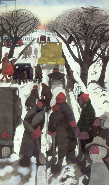 Winter, 1964 (w/c on cardboard)