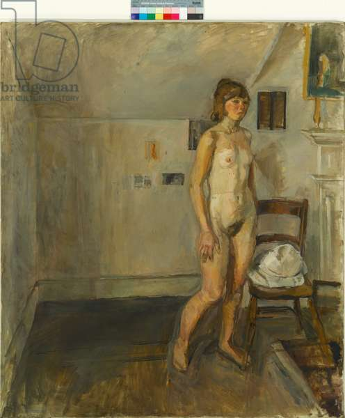 Standing Nude, 1958 (oil on canvas)