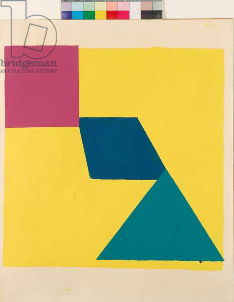 Untitled No.57, 1966 (acrylic on paper)