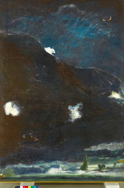 Night Landscape, 1976 (oil on canvas)
