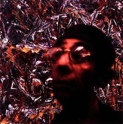 Portrait of Derek Jarman (b.1942) 1996-97 (digital colour transfer print)