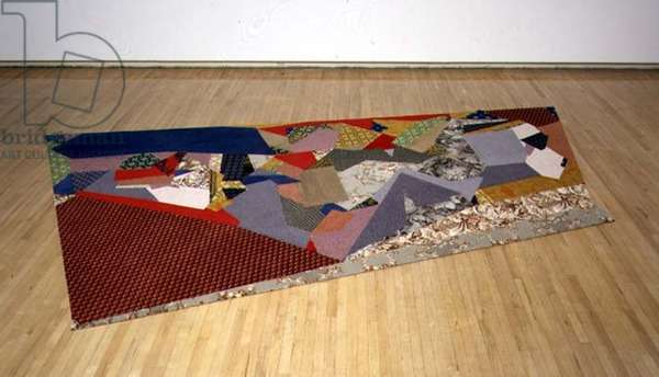 Carpet, 1992 (wool, sisal and rubber)