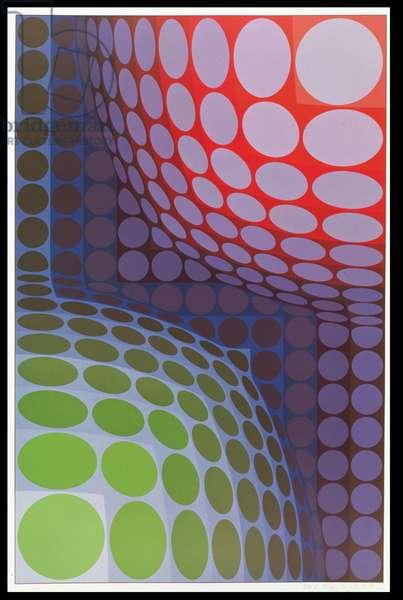 Bi-Vega, 1974 (screenprint)