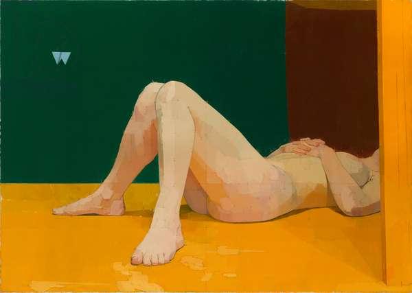 The Quarry Pignano, 1979 (oil on canvas)
