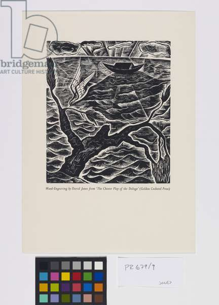 'The Deluge' illustrations: After The Deluge [9/10], 1927 (wood engraving)