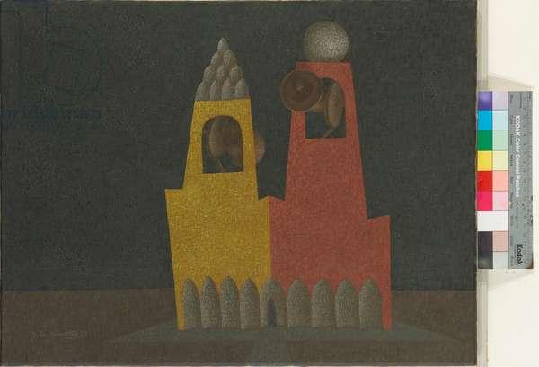 Tocsin, 1967 (oil on canvas)
