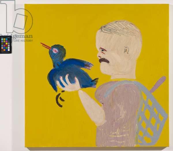 Birdcatcher, 2012 (oil on canvas)