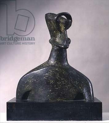 Head of King, 1952-3 (bronze)